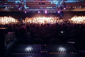 Rockup and sing at the Yorkshire event centre